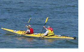 Kayak univers kayaks rigides en fibres composite descriptif des diff ren - Kayak de mer 2 places ...